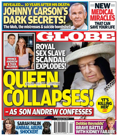 Prince Andrew's Underage Scandal Killing Queen Elizabeth: Virginia Roberts Writing Tell-All Book?