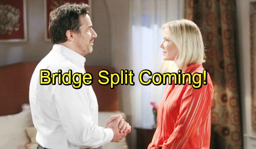 The Bold and the Beautiful Spoilers: Brooke and Ridge's Relationship Permanently Damaged – Divorce Coming