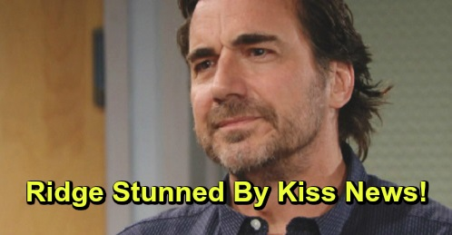 The Bold and the Beautiful Spoilers: Ridge Stunned By News Of Shared Kiss - Developing Feelings For Shauna?