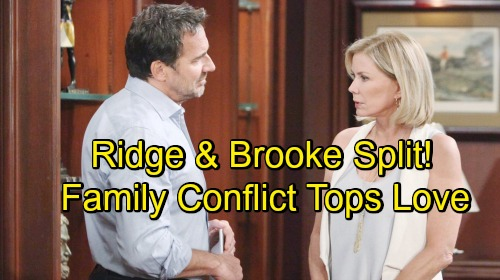 The Bold and the Beautiful Spoilers: Tensions Mount For Brooke and Ridge - Family Drama Rips Relationship Apart