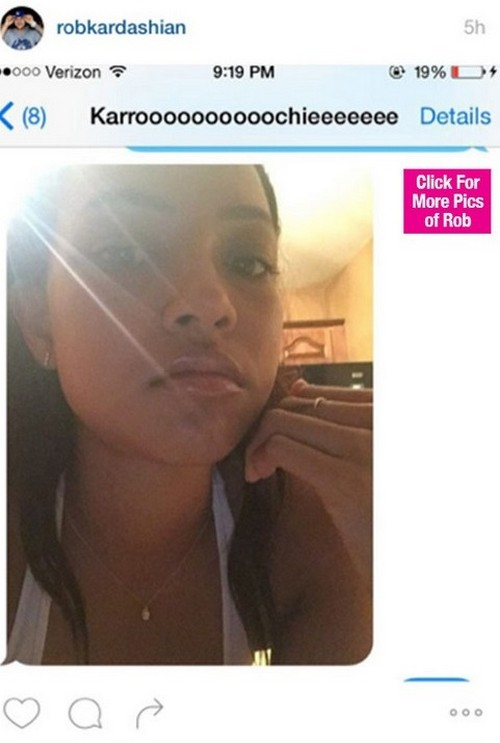 Rob Kardashian and Karrueche Tran NOT Dating: Rob Shares Instagram Photo, Tran Says Set The Record Straight