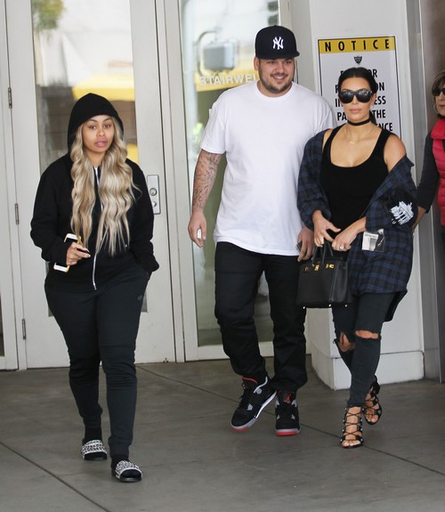 Rob Kardashian Bans Kim Kardashian From Speaking About Blac Chyna Engagement