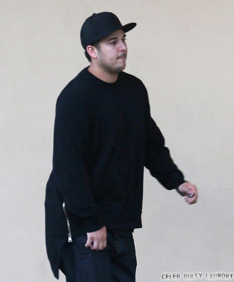 Rob Kardashian Looks Fatter After Weight Gain - Kim Kardashian and Kris Jenner Embarrassed For Wedding Photos and Video