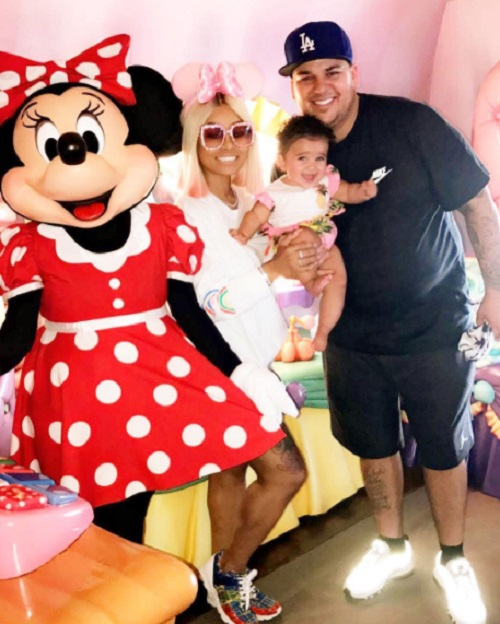 Blac Chyna And Rob Kardashian Back Together: Toxic Couple Reunited At Disneyland California