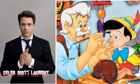 Tim Burton Wants Robert Downey Jr. for Pinocchio