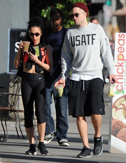 Robert Pattinson Chooses FKA Twigs Over Kristen Stewart Because He Hates Kristen's Short Unfeminine Hair!