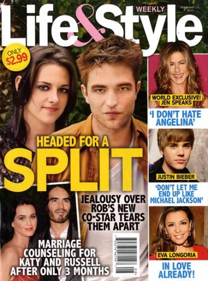 Robert Pattinson-Kristen-Stewart-Split