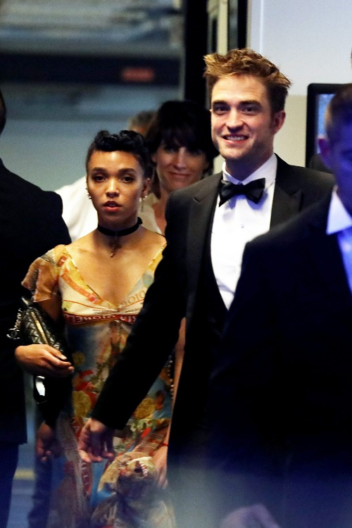 FKA Twigs Looks Miserable With Robert Pattinson At Cannes Film Festival