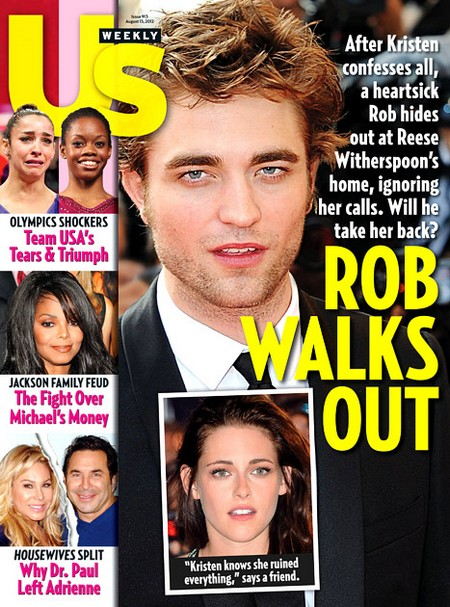 Robert Pattinson Found: Reese Witherspoon Offers Support And Sanctuary (Photo)