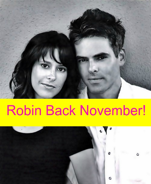 General Hospital Spoilers (GH): Kimberly McCullough Returns As Robin Scorpio-Drake In November, Leaves Town With Patrick Drake?