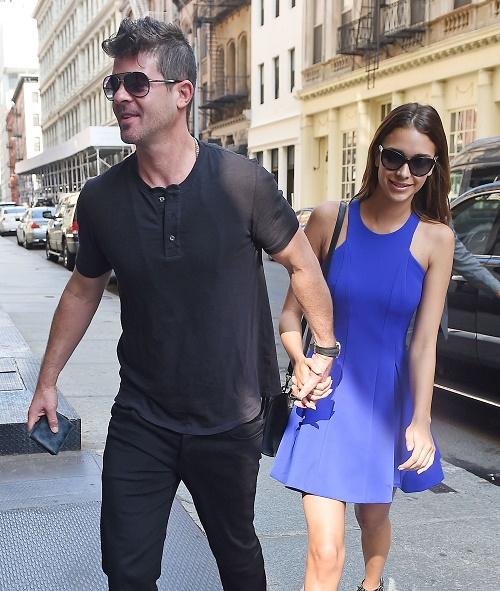 Robin Thicke, April Love Geary Dating And Happy: Paula Patton Hates He Introduced Girlfriend to Son Julian!