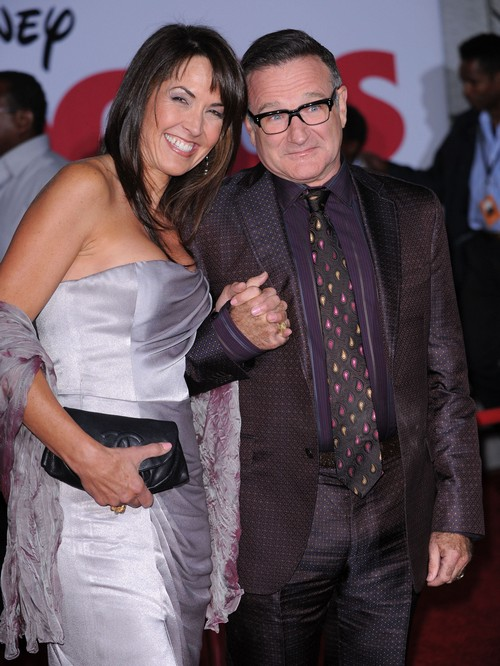 Robin Williams' Family Fights Susan Schneider for Estate Inheritance, Trying to Prevent Wife From Cashing In On Suicide