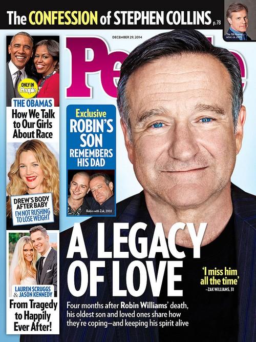 Robin Williams' Son Zak Speaks In New Interview (PHOTO)