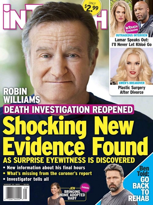 Robin Williams Death Investigation Reopened – Shocking New Evidence Revealed by Mystery Witness?