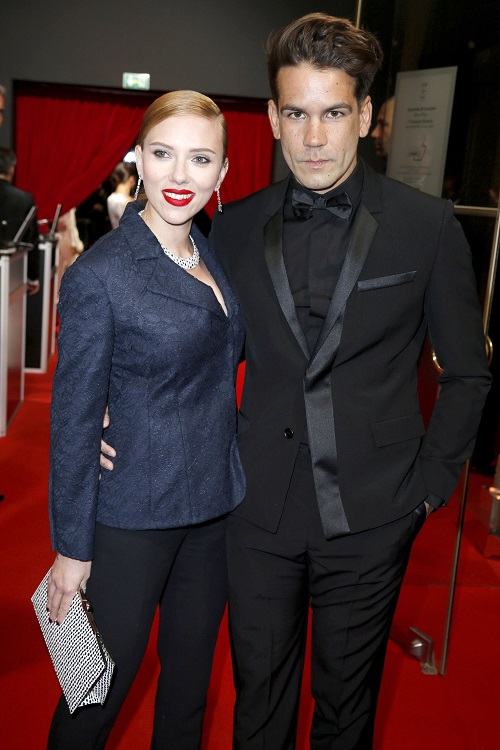 Scarlett Johansson Reunites With Estranged Husband Romain Dauriac - For Image After Big Movie Flop?