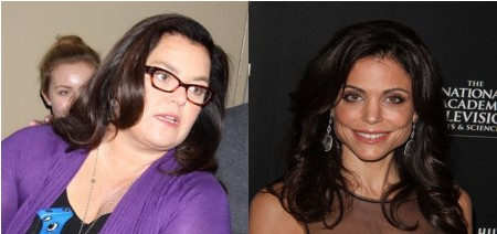 Rosie O'Donnell Fighting Mad That Bethenny Frankel Stole Her Show! 0723