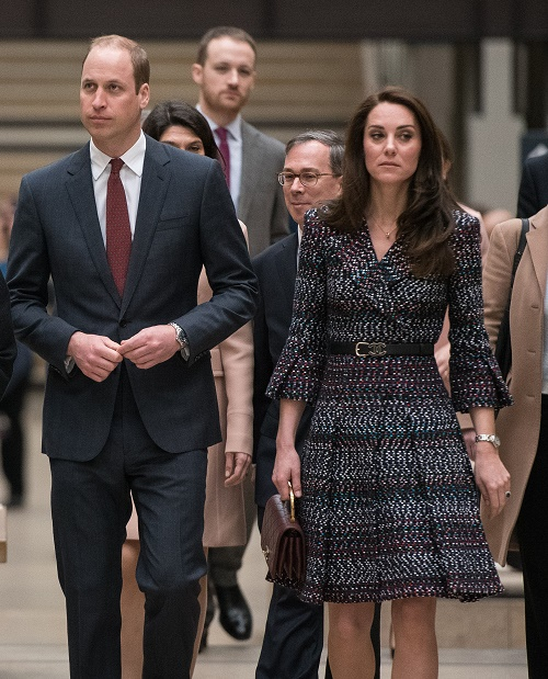 52348370 President of the museum Laurence Des Cars shows Prince William, Duke of Cambridge and Catherine, Duchess of Cambridge around at Musee d'Orsay during an official two-day visit to Paris, France on March 18, 2017. FameFlynet, Inc - Beverly Hills, CA, USA - +1 (310) 505-9876 RESTRICTIONS APPLY: USA ONLY
