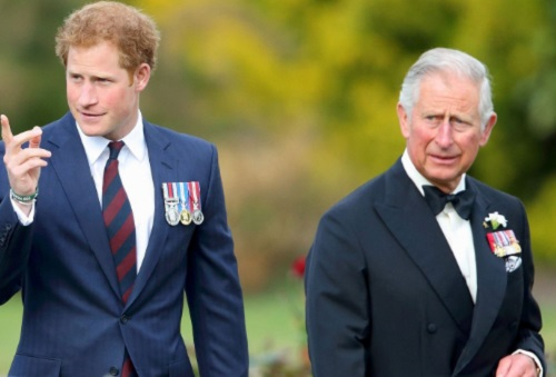 Prince Harry And Prince Charles Bond At Last During Prince William's Ski Trip
