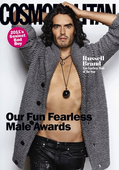 Russell Brand Covers Cosmopolitan
