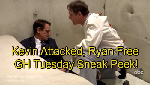 General Hospital Spoilers: Tuesday, September 4 Sneak Peek Promo – Kevin Faces Vicious Attack – Ryan Unleashed on PC