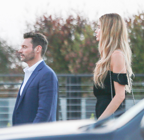 Ryan Seacrest Spotted With Mystery Blonde, New Girlfriend? (PHOTOS)