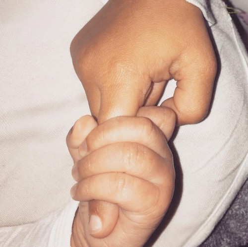 Kim Kardashian's Saint West Photo: Reveals Pic of Son's Hand
