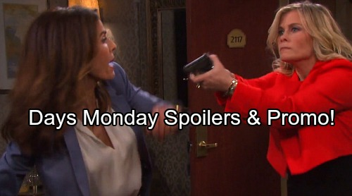 Days of Our Lives Spoilers: Monday, October 23 - Sami's Armed and Dangerous, Dr. Rolf Confesses – Victor's Scheme Revealed