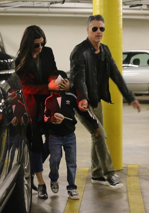 Sandra Bullock And Bryan Randall Romance Getting Serious: Father Figure To Sandra's Kids
