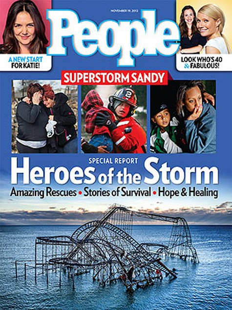 The Heroes of Hurricane Sandy: Amazing Rescues, Stories of Survival, Hope & Healing
