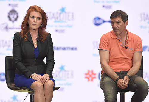 Kate Middleton Disgusted: Sarah Ferguson Flirts With Antonio Banderas Just Hours After Split From Boyfriend Manuel Fernandez?