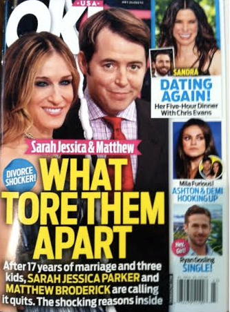 Sarah Jessica Parker Divorce: Split With Matthew Broderick ...