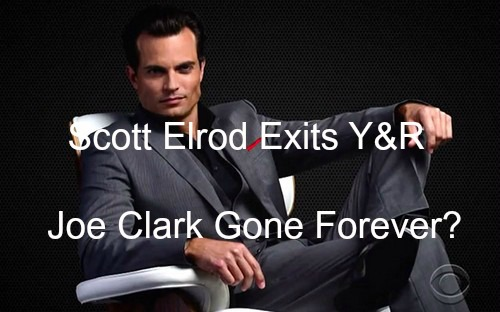 The Young and the Restless Spoilers: Scott Elrod's Y&R Exit Final – Joe Clark Not Returning to Genoa City