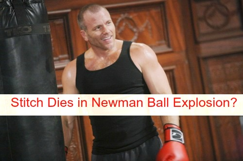 The Young and the Restless Spoilers: Is Stitch Killed in Newman Ball Explosion, Sean Carrigan Contract Not Renewed, Exits Y&R?