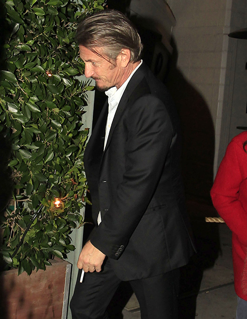 Madonna's Reunion With Sean Penn Ends Abruptly After Sean Caught Hooking Up With Naomi Campbell?