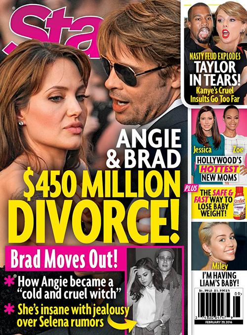 Brad Pitt And Angelina Jolie Divorce: Angie Calls Divorce Attorneys Over Selena Gomez Cheating Rumors