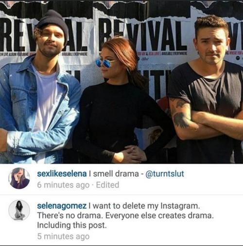 Selena Gomez Threatens To Shut Down Instagram Account: Done With Justin Bieber Drama