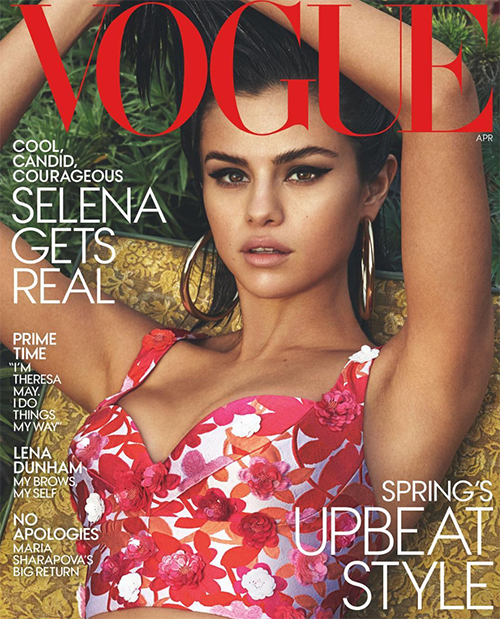 Selena Gomez Dishes On Mental Health, Downsides Of Fame In Vogue Magazine Cover Story: Reveals She's Falling Apart? (PHOTO)