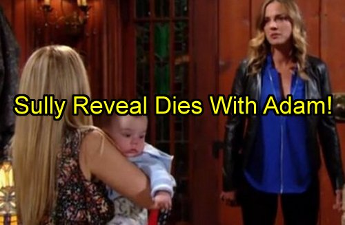 """e Young and The Restless' Spoilers: Will YR Showrunners Cheat Fans Out of Sully Reveal Now That Adam is """"Dead""""?"""