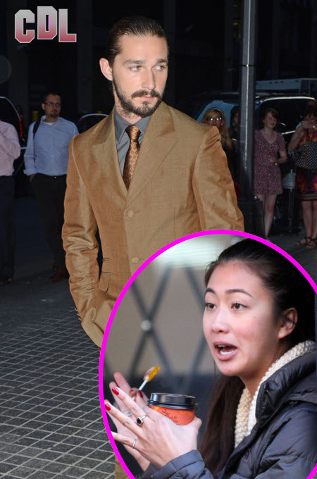 Shia LaBeouf and Girlfriend Karolyn Pho Get in Screaming Match over his New Porn Role (Photos)