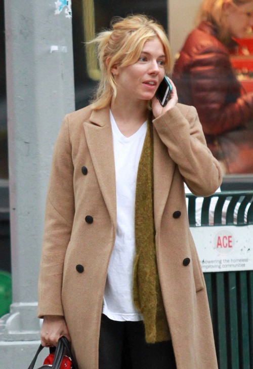 Sienna Miller Cozying up to Bradley Cooper - Trying to Dispel Brad Pitt Cheating Rumors, Placate Angelina Jolie?