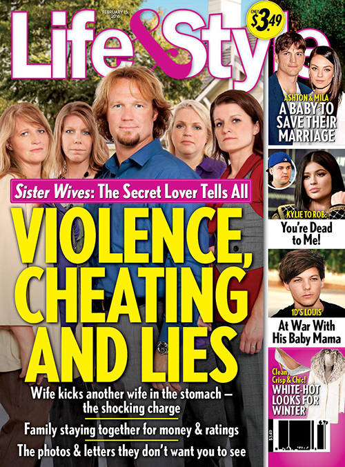 Kody Brown 'Sister Wives' Star Cheating On Robyn Brown With Secret Lover: Lies Destroy The Wives?