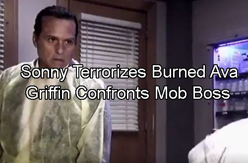 General Hospital Spoilers: Ava Horribly Burned – Sonny Stalks Her in ICU – Griffin Rages at Mob Boss For Cruel Antics