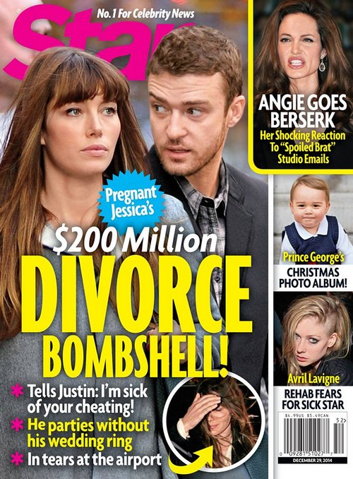 Jessica Biel Pregnant: Justin Timberlake History of Cheating, Divorce Possible? (PHOTOS)