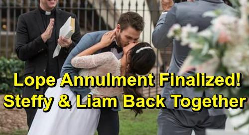 The Bold and the Beautiful Spoilers: Lope Finalized Annulment Leaves Liam Heartbroken – Steam Reunion, Steffy Pulls Liam Closer