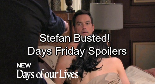 Days of Our Lives Spoilers: Friday, April 20 – Chad Catches Stefan and Gabby In Bed – Kate Knocked Out, Joins Other Captives