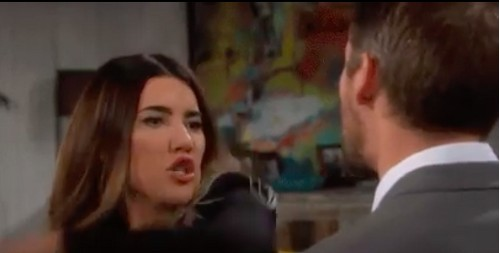 The Bold and the Beautiful Spoilers: Was Steffy Slapping Liam Crude Domestic Violence or Light B&B Entertainment?