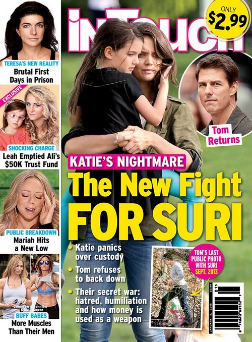 Tom Cruise and Katie Holmes Custody Battle Over Daughter Suri