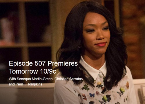 Talking Dead LIVE Recap: Season 5 Episode 7 with Sonequa Martin-Green, Christian Serratos and Paul F. Tompkins