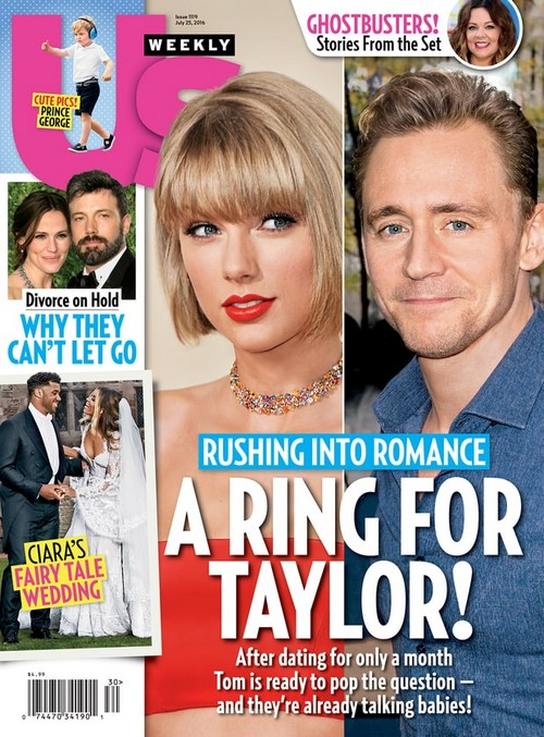 Taylor Swift Engaged: Tom Hiddleston Proposal Plans – T-Swift Getting Married?
