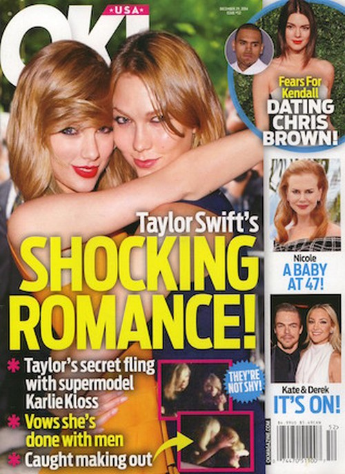 Is Taylor Swift Dating Karlie Kloss: Spotted Kissing The Victoria's Secret Model - Giving Up On Men? (PHOTO)